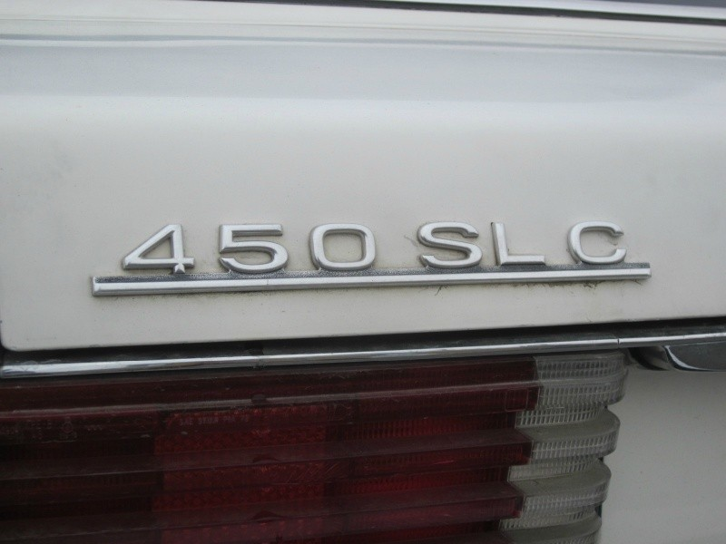 Mercedes-Benz SLC 450 1976 price $5,995