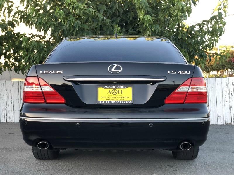 2006 Lexus LS 430 Sedan Black On Black Mark Levinson Fully Loade