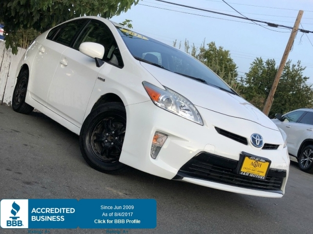 2013 Toyota Prius Two White On Gary 114K Miles LOOK