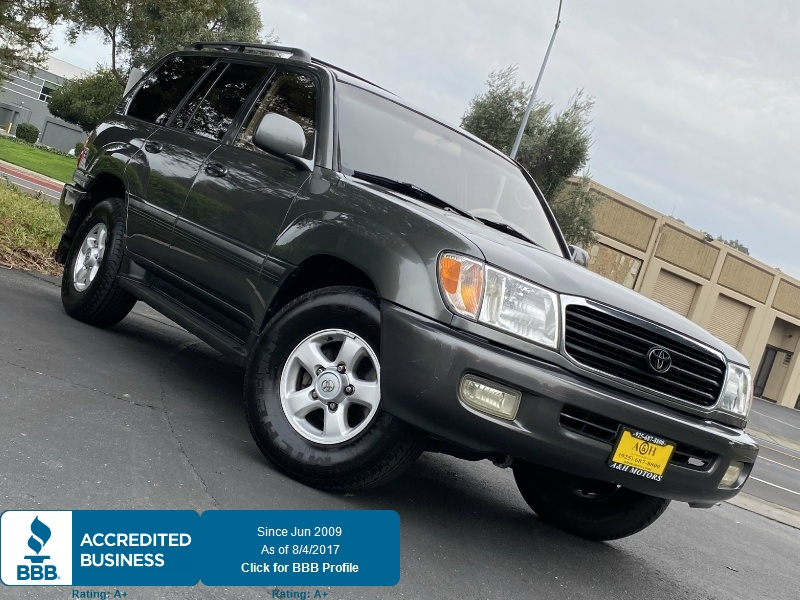 Toyota Land Cruiser 1999 price $13,995