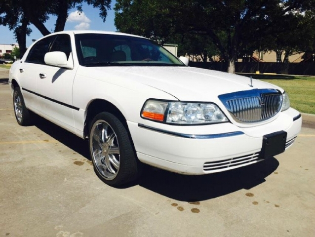 2008 Lincoln Town Car Signature Limited 20 Wheels Inventory