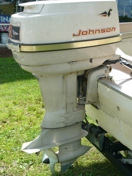 1963 Starcraft Runabout 15ft Boat With Trailer 40 Hp