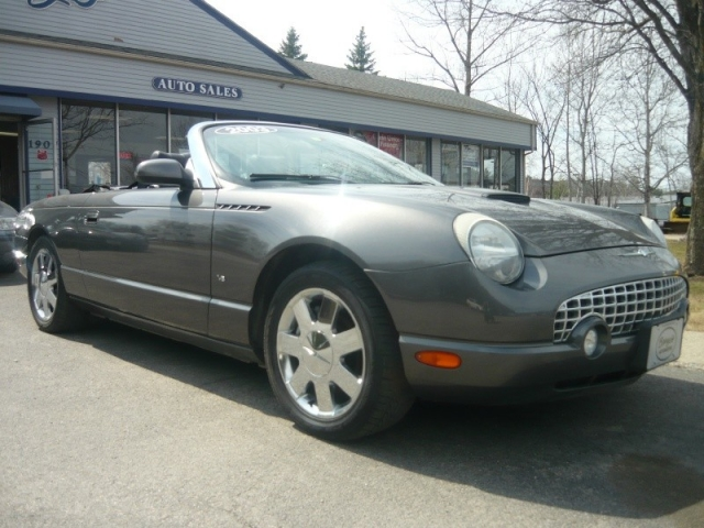 2003 Ford Thunderbird Convertible Deluxe with Hardtop