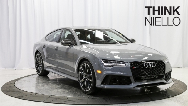 2018 Audi RS 7 4.0T Performance quattro