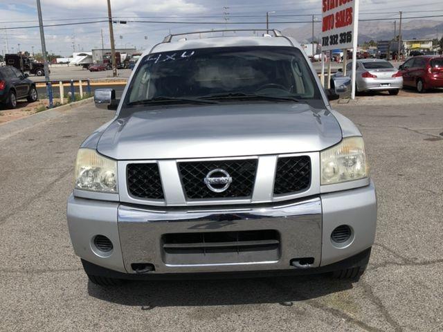 2004 Nissan Pathfinder Armada >> 2004 Nissan Pathfinder Armada Se Sport Utility 4d