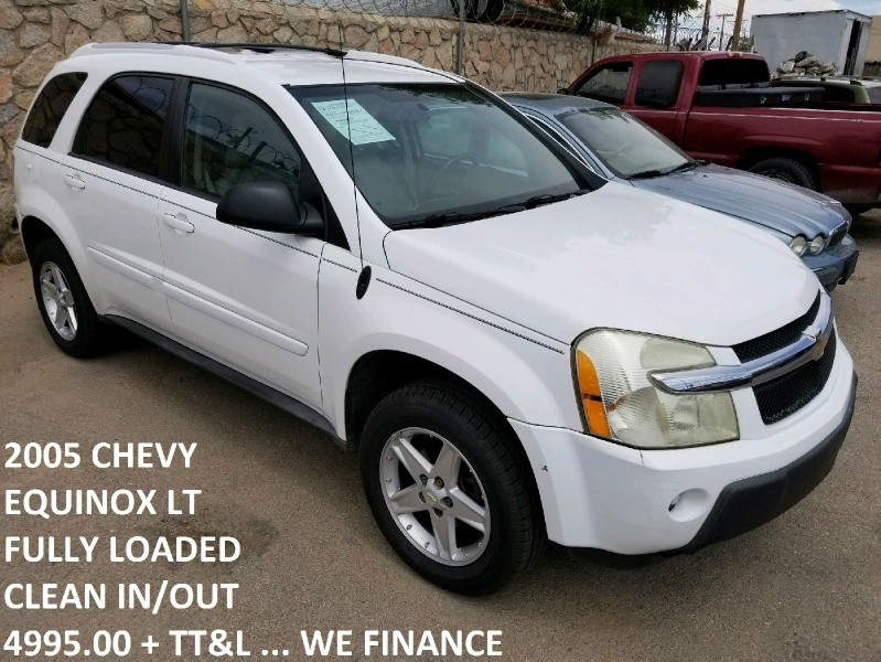 Chevy Dealership El Paso >> 2005 Chevrolet Equinox 4dr AWD LT - Inventory | Triangle ...