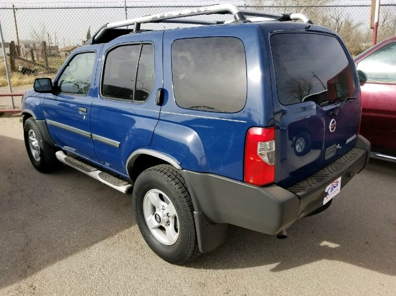 2004 nissan xterra 4dr xe 2wd v6 auto inventory triangle motors auto dealership in el paso. Black Bedroom Furniture Sets. Home Design Ideas