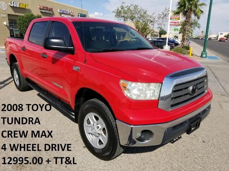 Toyota Tundra 4WD Truck 2008 price $11,995