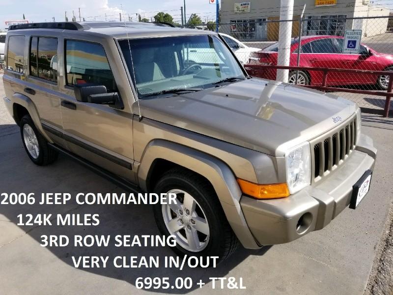 Jeep Commander 2006 for Sale in El Paso, TX
