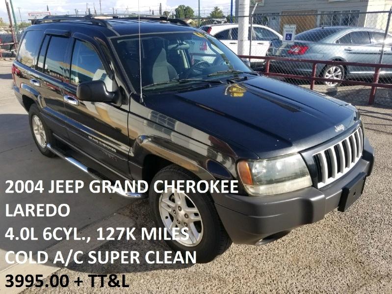 Jeep Grand Cherokee 2004 for Sale in El Paso, TX