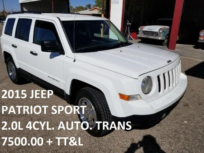 Jeep Patriot 2015 price $7,500
