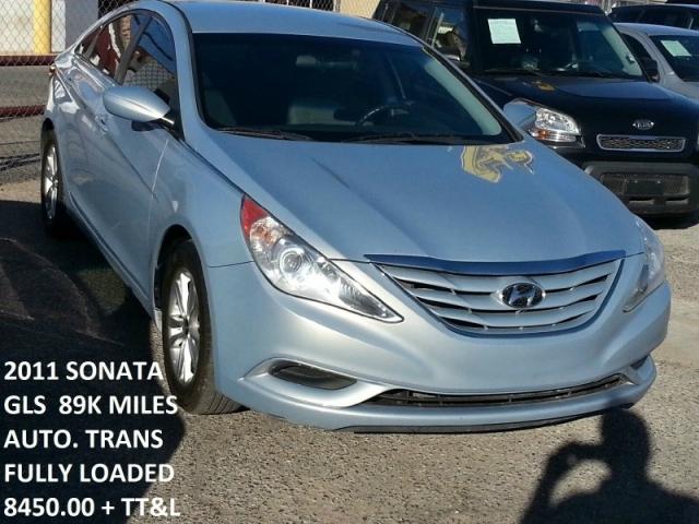 2011 Hyundai Sonata 4dr Sdn 2 4l Auto Gls Ltd Avail