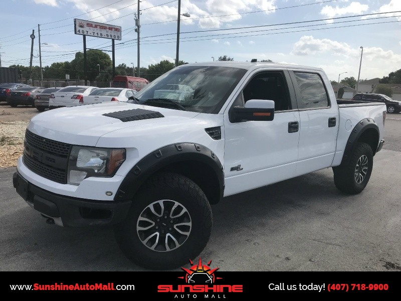 2012 Ford F-150 4WD SuperCrew 145 SVT Raptor - Inventory | Sunshine ...