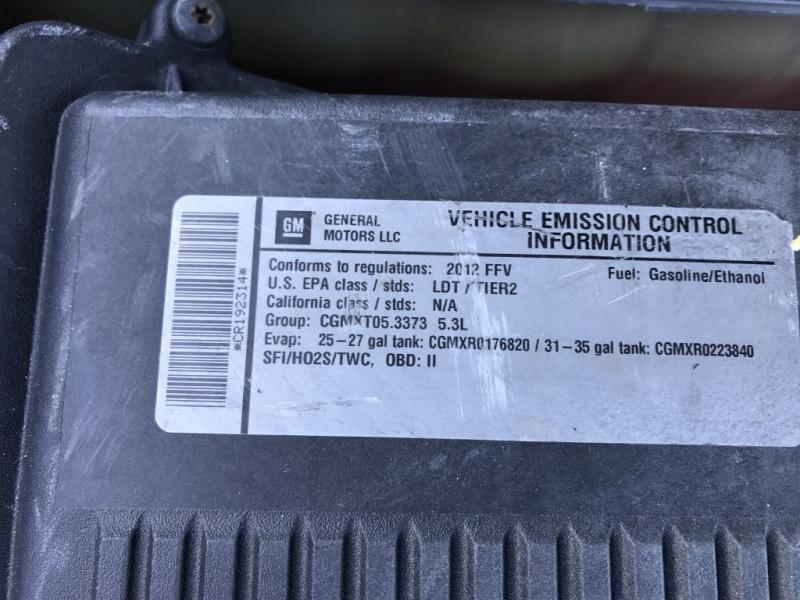 Chevrolet Tahoe 2012 price $12,500 Cash