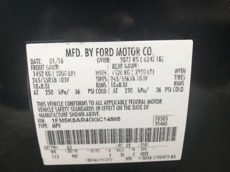FORD EXPLORER 2016 price $21,700 Cash