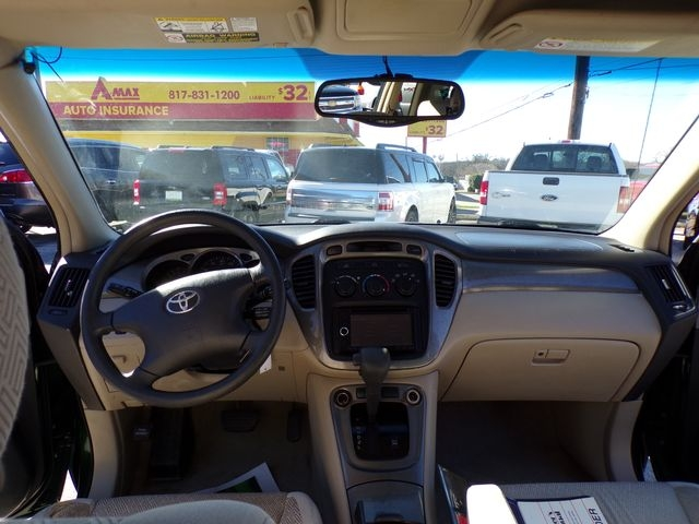 Toyota Highlander 2002 price $3,995