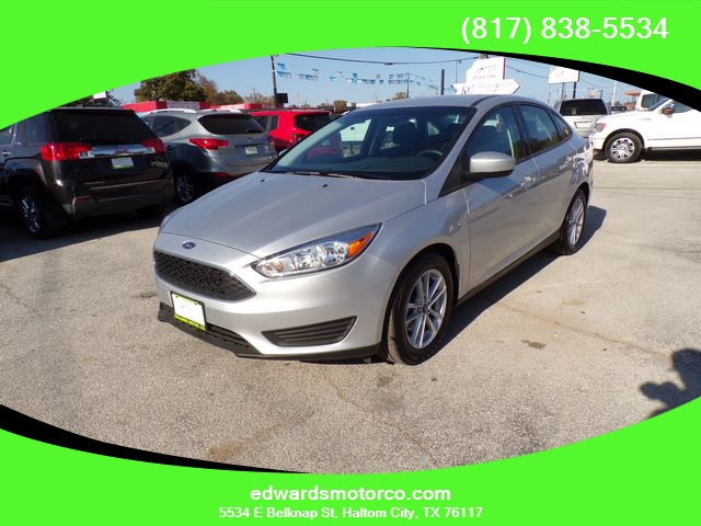 Ford Focus 2018 price $13,795
