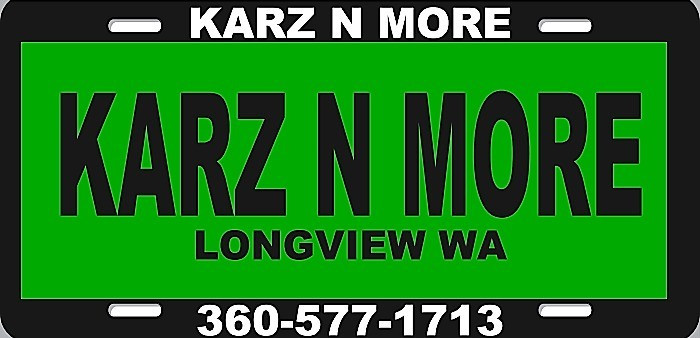 - KARZ N MORE inc. 360-577-1713  2019 price $0