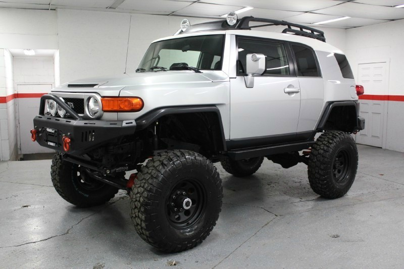 2007 Toyota Fj Cruiser 10 Quot Lift Solid Axle Conversion So