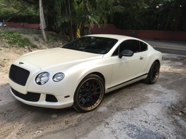 2012 Bentley Continental GT Mulliner & ADV.1 WHEELS & Satin Whi