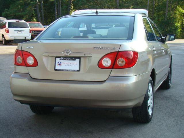 TOYOTA COROLLA 2005 price $3,650