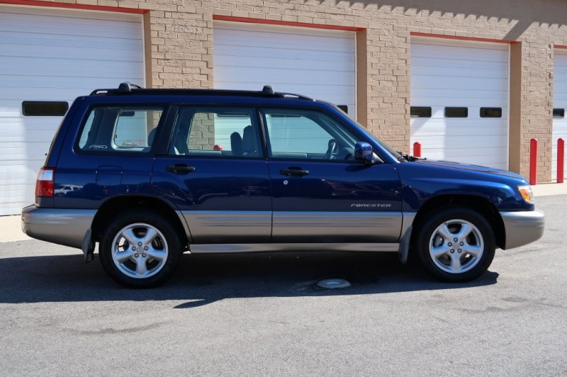 SUBARU FORESTER 2002 price $5,995