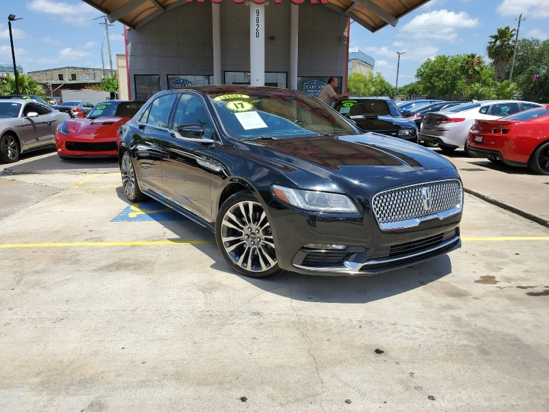 Lincoln CONTINENTAL 2017 price $32,995