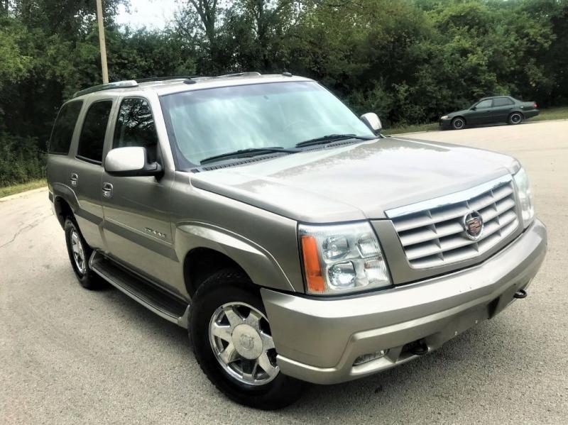Cadillac Escalade 2003 price $8,777