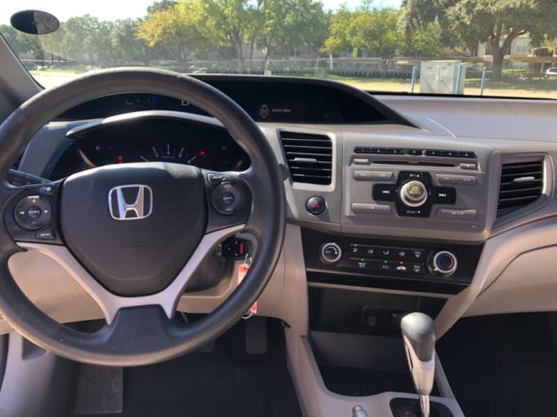 Honda Civic Sdn 2012 price 1000 Enganche