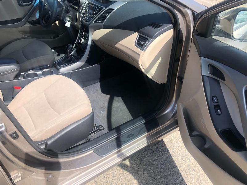 Hyundai Elantra 2016 price $6,999