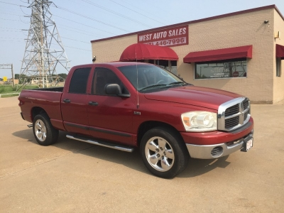 "2007 Dodge Ram 1500 2WD Quad Cab 140.5"" SLT 7500 Cash"