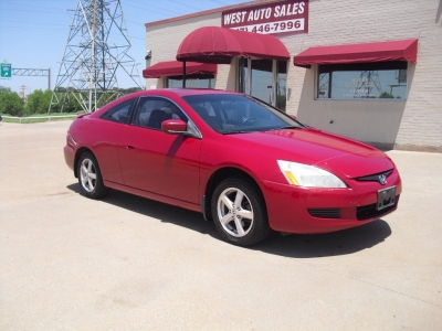2004 Honda Accord Cpe EX Auto w/Leather 5000 cash
