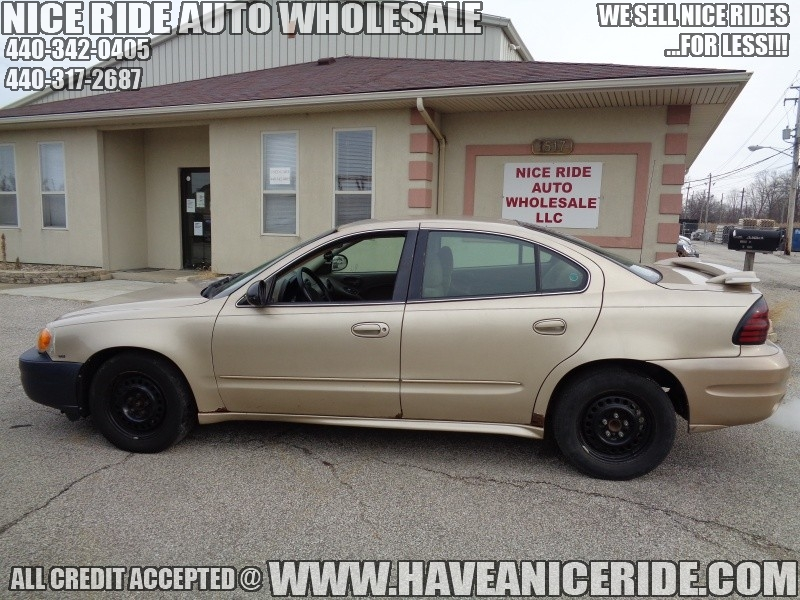 Pontiac Grand Am 2005 price $950
