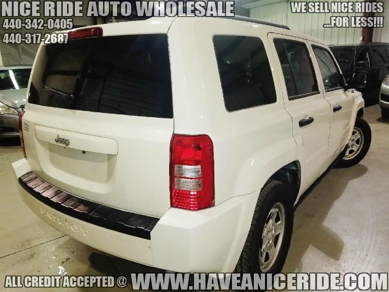 Jeep Patriot 2008 price $6,800
