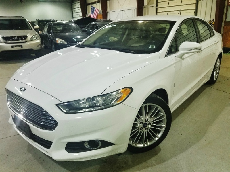 Ford Fusion Ecoboost >> 2015 Ford Fusion Se Ecoboost