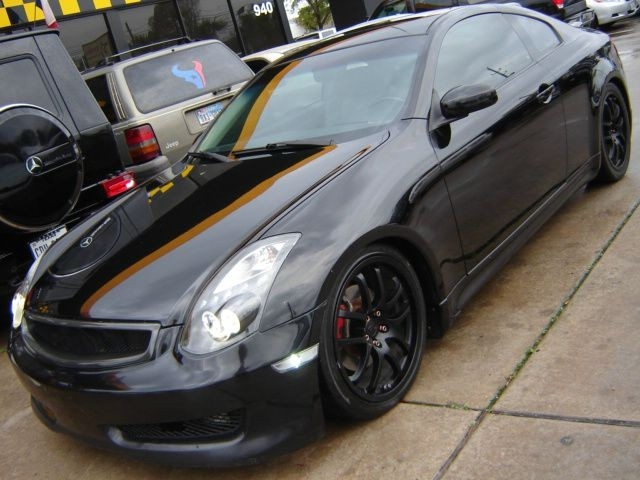 2006 INFINITI G35 SPORT COUPE 6 SPEED CLEAN CARFAX CUSTOM SHOW CAR