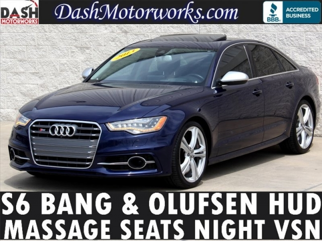 2013 Audi S6 Prestige Bang Olufsen Night Vision 420hp