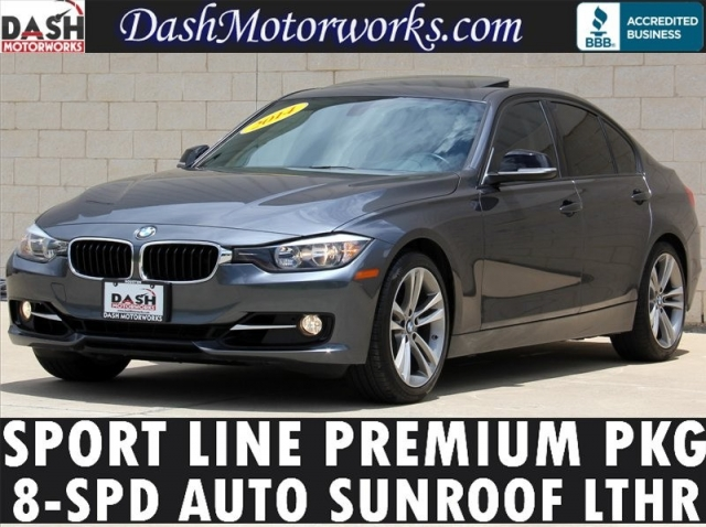 2014 BMW 3-Series 328i Sport Line Premium Package