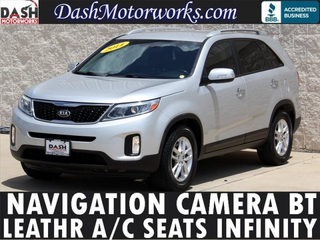 2014 Kia Sorento Navigation Camera Leather Cooled Seats