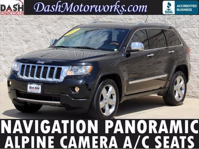 Alpine Texas Auto Sales >> 2012 Jeep Grand Cherokee Overland Navigation Panoramic Leather