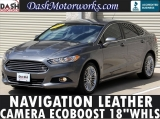 Ford Fusion SE Navigation Camera Leather Ecoboost 2014