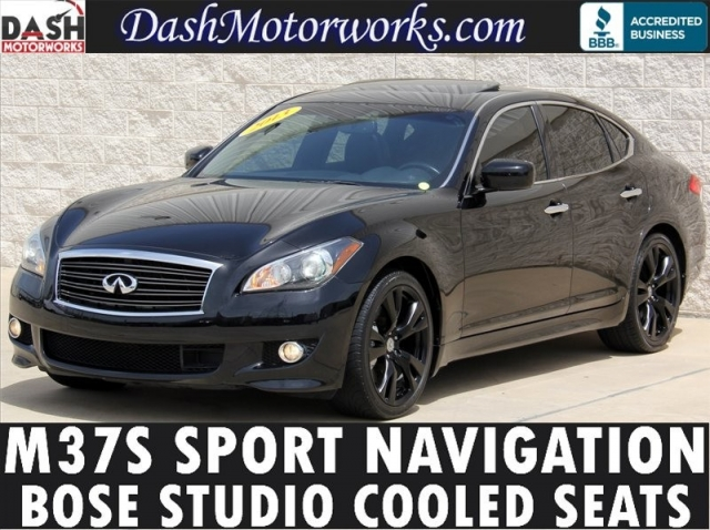 2013 Infiniti M37S Navigation Bose Leather
