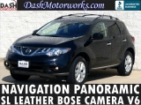 Nissan Murano SL Navigation Bose Panoramic Leather 2013