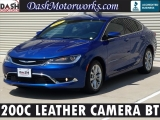 Chrysler 200C Leather Camera Bluetooth 2015