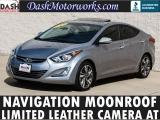 Hyundai Elantra Limited Navigation Camera Leather Sunroof 2015