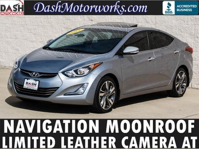 2015 Hyundai Elantra Limited Navigation Camera Leather Sunroof