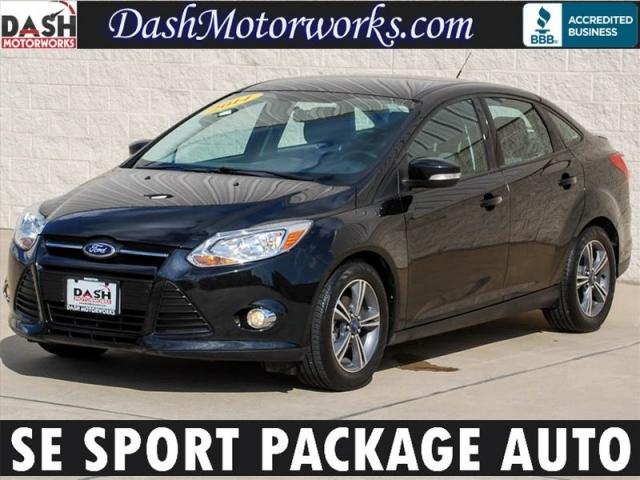 2014 Ford Focus Se Sedan Sport Package Automatic Houston
