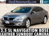 Nissan Altima 3.5 SL V6 Navigation Moonroof Bose Leather 2015