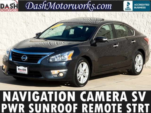 2013 Nissan Altima SV Navigation Camera Moonroof
