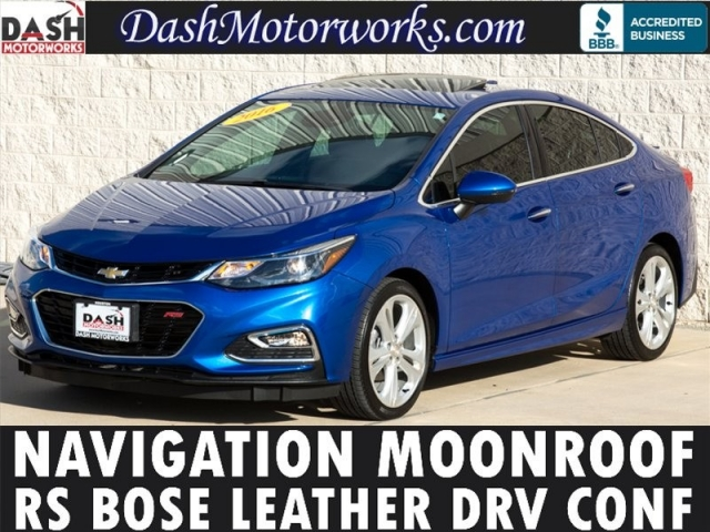 2016 Chevrolet Cruze Premier RS Navigation Bose Moonroof